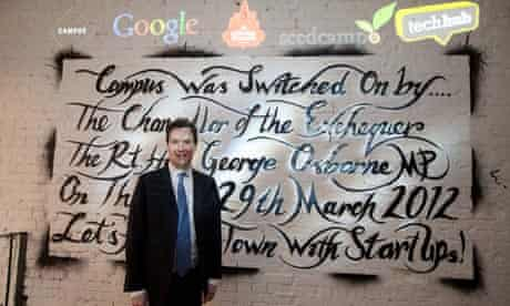 George Osborne opens Google Campus