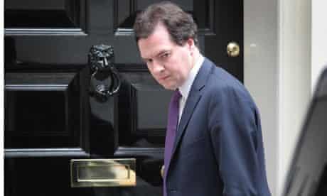 Chancellor George Osborne Leaves Downing Street