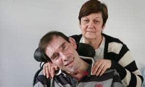 Locked-in syndrome sufferer Tony Nicklinson with his wife Jane