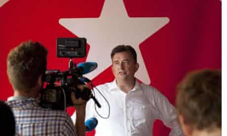 Dutch Socialist party (SP) leader Emile Roemer