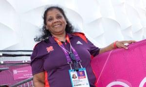 olympic volunteer Sarah Salem