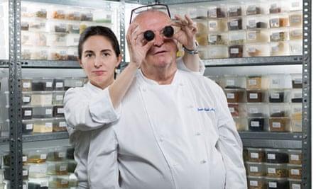 Elena and Juan Mari Arzak