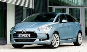 Car Review Citroen Ds5 Technology The Guardian