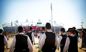 Olympics - police
