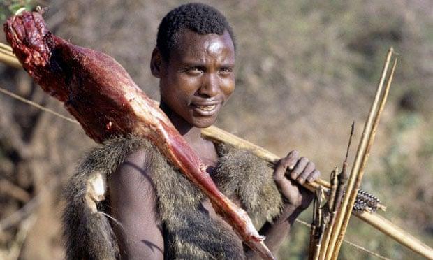 bosquimano cazador