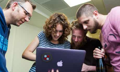 hackers at the hackathon