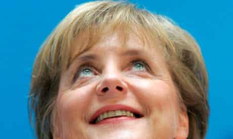 Christian Democrats party leader Angela