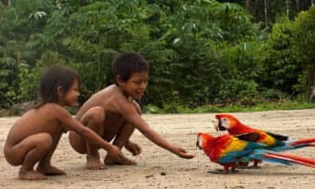 Huaorani Indians