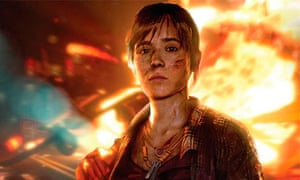 Ellen Page in Beyond: Two Souls