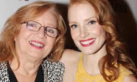 jessica chastain grandmother heiress