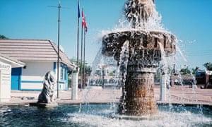 Trafalgar Square in Lake Havasu City, Arizona
