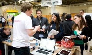 Silicon Milkroundabout recruiting fair