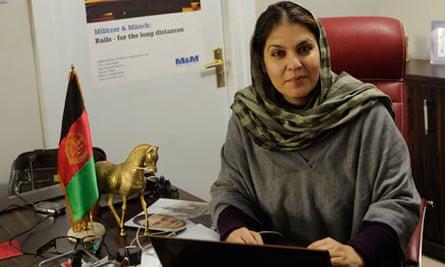 afghan businesswoman