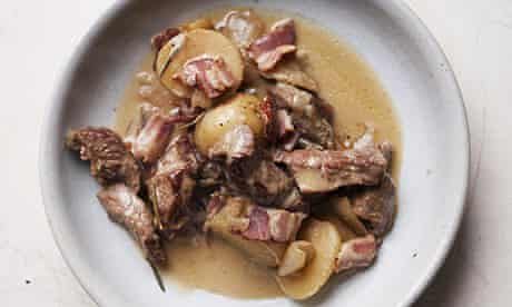 Nigel Slater's lamb and bacon stew recipe