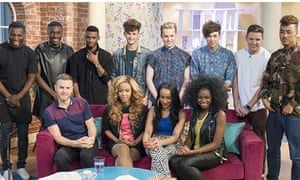 X Factor finallists on This Morning