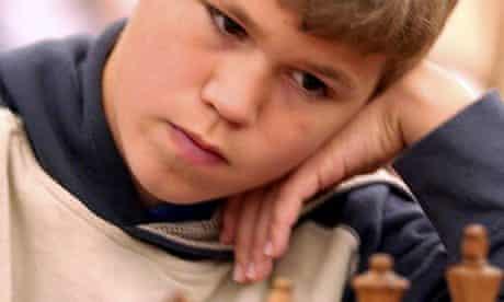 Magnus Carlsen aged 13
