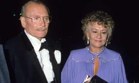 Joan Plowright with Laurence Olivier in 1978