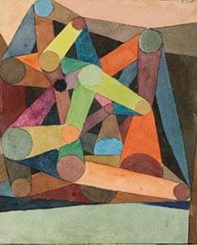 Opened Mountain 1914 Paul Klee