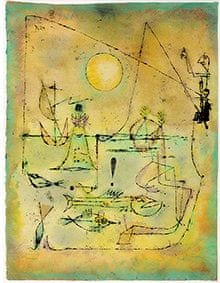 paul klee they're biting 1920