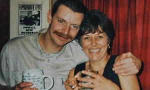 helen jeffreys with son David (born Adam) in 1995