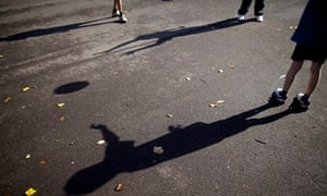 child shadow playground
