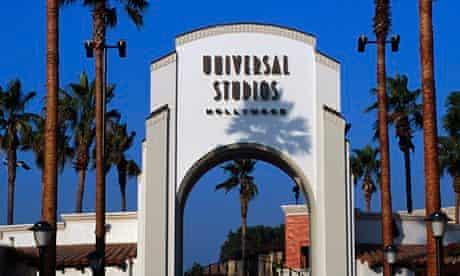 Entrance to Universal Studios