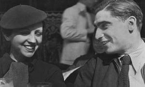 Gerda Taro and Robert Capa, 1936