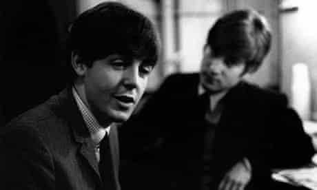 John LENNON and Paul McCARTNEY in 1963