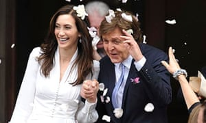 Wedding of Paul McCartney and Nancy Shevell, London, Britain - 09 Oct 2011