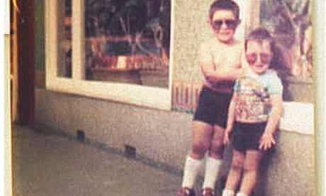 Gok Wan and his brother Kwoklyn as boys