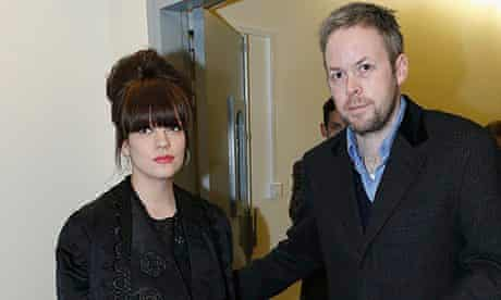 Lily Allen with her husband Sam Cooper