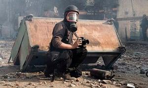French photojournalist Remi Ochlik who was killed in Syria