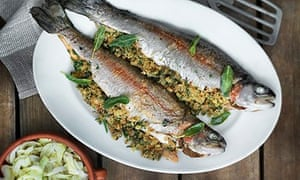 trout and fennel side dish