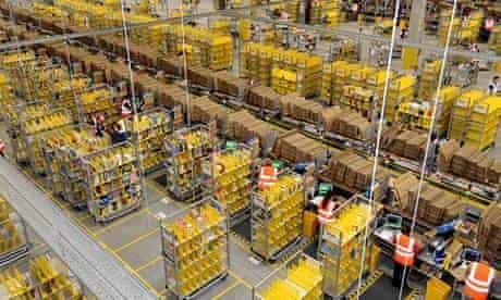 Amazon warehouse, feature