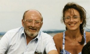 Yvonne Roberts with her father, John