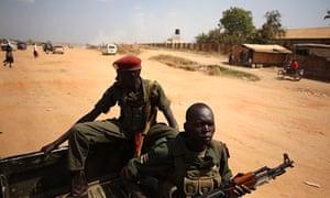 Soldiers in Juba