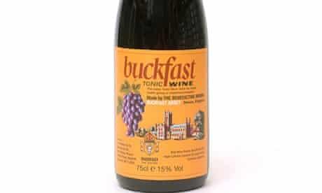 Buckfast wine. Image shot 2008. Exact date unknown.