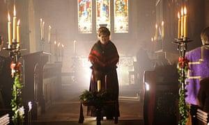 Susan Boyle in church