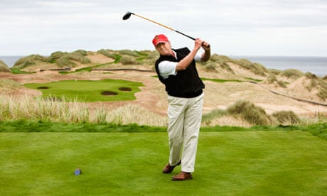 How can building a golf complex be good for the environment?