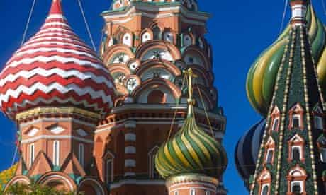 St Basil s Cathedral Red Square Moscow Russia