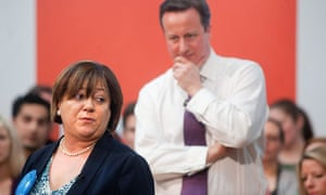 Maria Hutchings and David Cameron campaign in Eastleigh