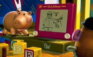 Etch a Sketch in Toy Story