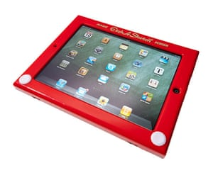 Etch a Sketch Apple iPad case