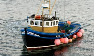 scallop wars - Guy Grieve's fishing boat Helanda