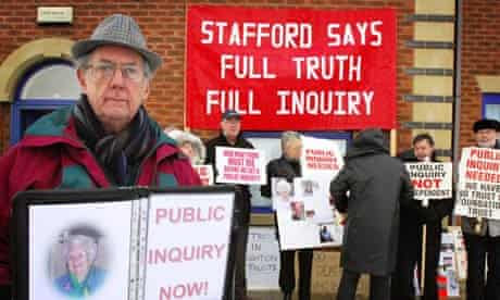 Stafford hospital demo, Yvonne Roberts