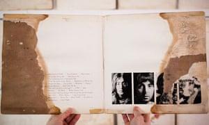 Beatles painted white album