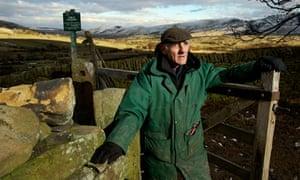 Roy Cooper on his farm