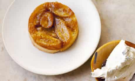 banana upside down tarte nigel slater