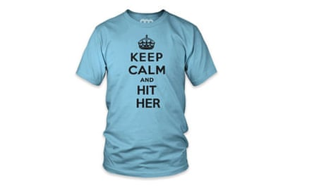 Keep Calm and Hit Her T-shirt
