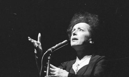 Edith Piaf (1915-1963), French singer